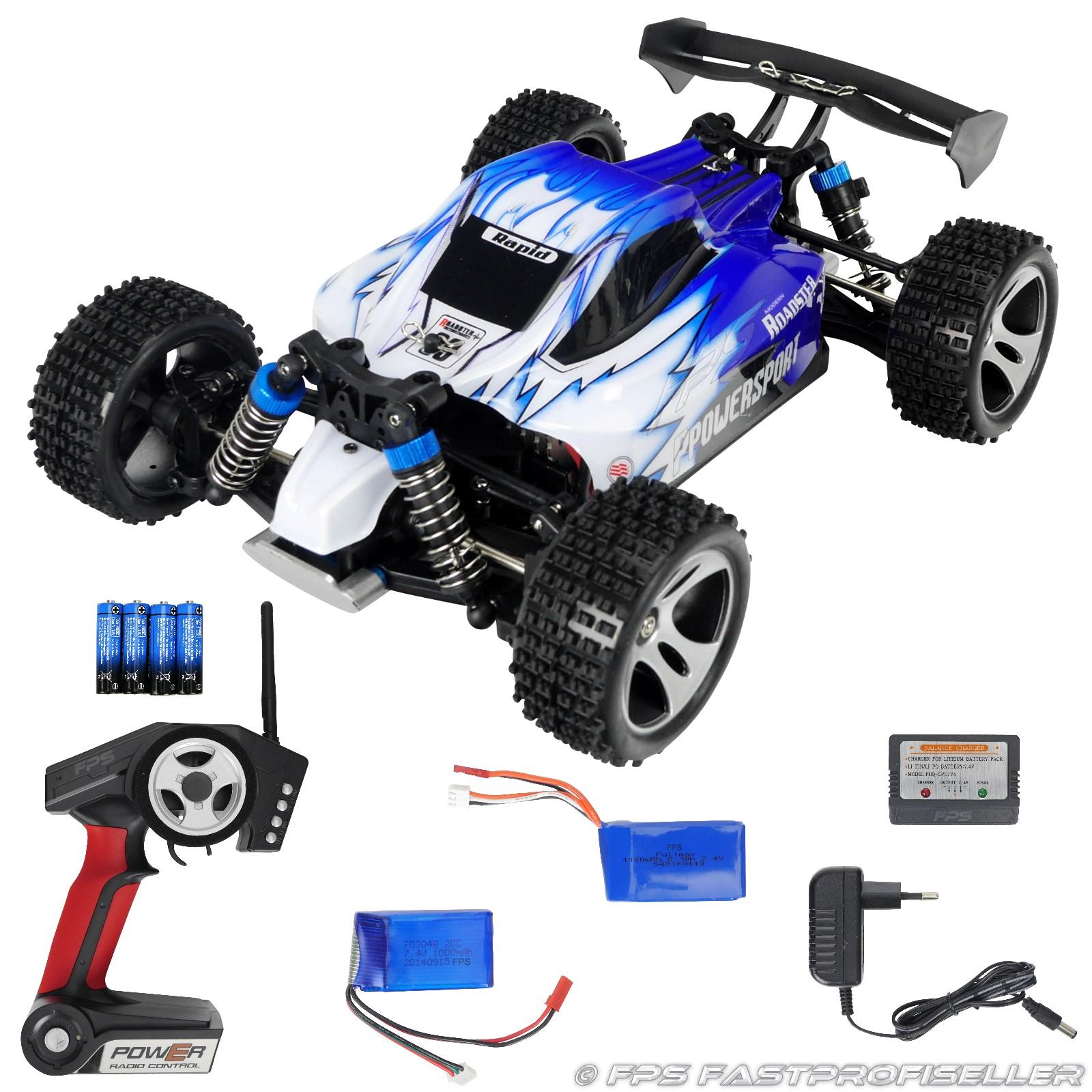 Rayline Funrace 01 FR01 RC Buggy mit Zubehör 2x Akku
