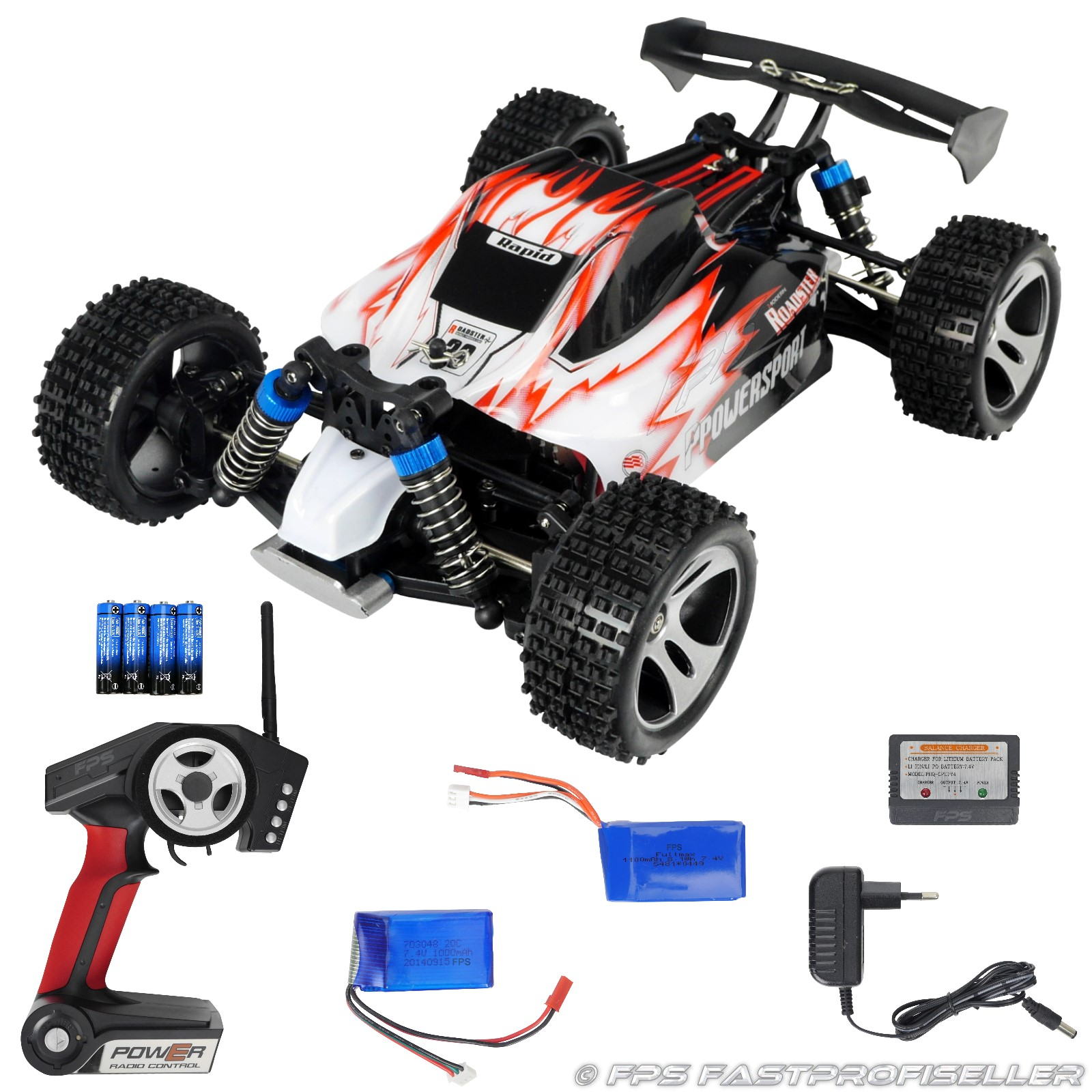 rc 2 4g elektro speed buggy auto offroad 1 18 bis 50 kmh. Black Bedroom Furniture Sets. Home Design Ideas