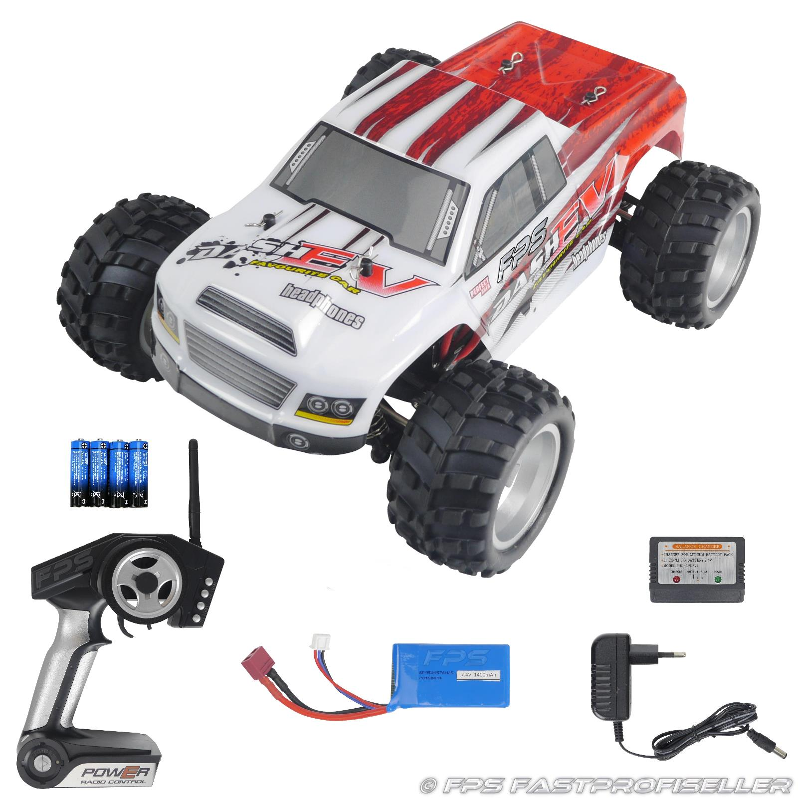Rayline Funrace 01 S FR01 S RC Monster Truck mit Zubehör