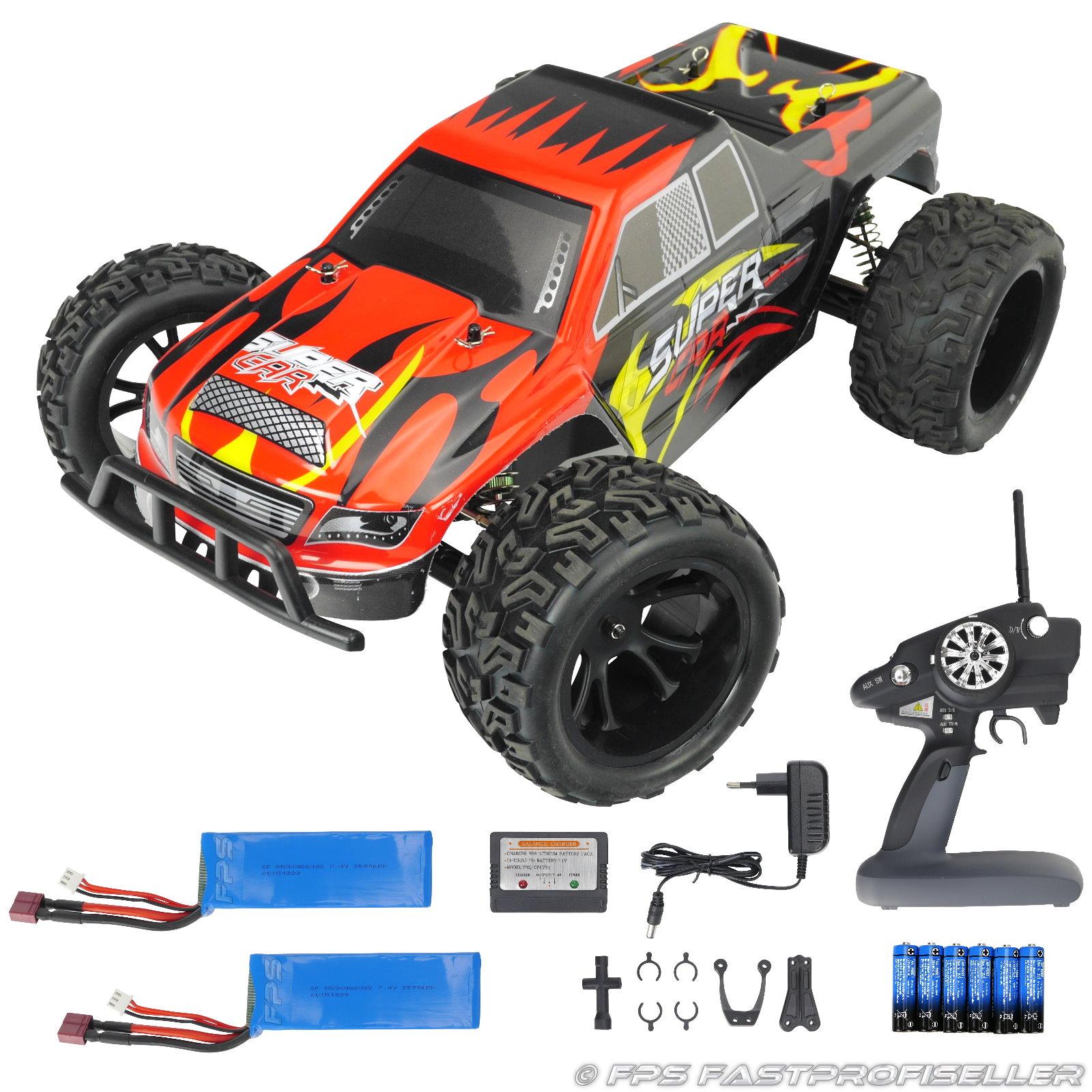 Rayline Funrace 03 FR03 RC Monstertruck mit Zubehör